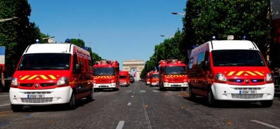 Les Pompiers au Monteil