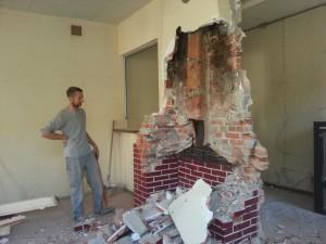 Case cheminée
