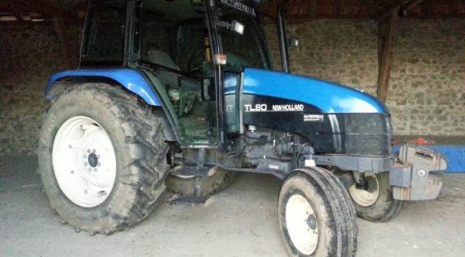 Le tracteur nouveau est arrivé